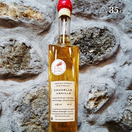 Rhum cannelle vanille 35cl