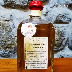 Rhum cannelle vanille 70cl